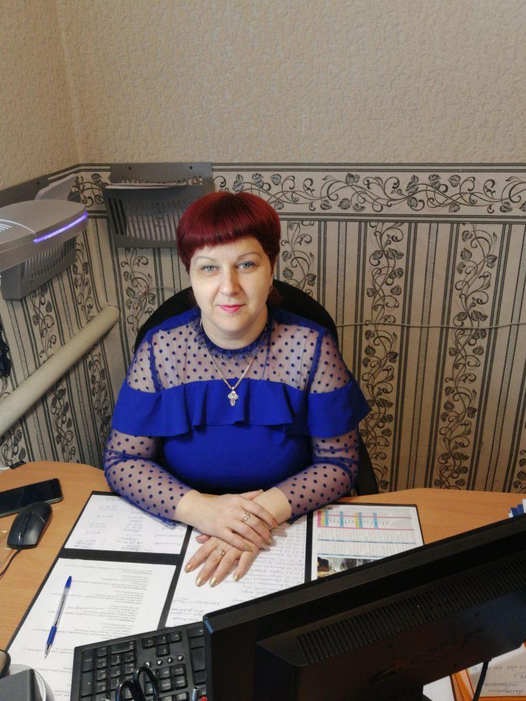 Заведующая отделением социального обслуживания на дому № 1 Тарасова Татьяна Николаевна